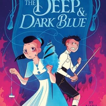 """""""The Deep & Dark Blue"""": A Milestone in LGBTQ Fantasy for Middle Schoolers [Review]"""