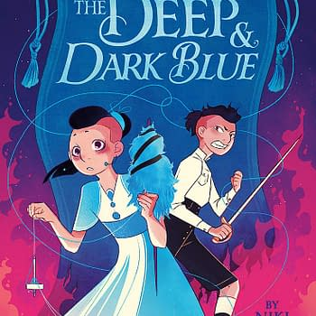 The Deep &#038 Dark Blue: A Milestone in LGBTQ Fantasy for Middle Schoolers [Review]