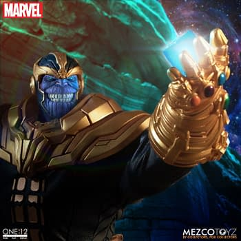 Thanos Has Unlimited Power with New Mezco Toyz One: 12 Figure