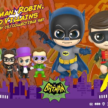 Batman 1966 Gets Adorable with New Hot Toys Cosbaby Figures