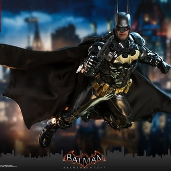 Batman Goes Gold With New Arkham Knight Hot Toys Figure