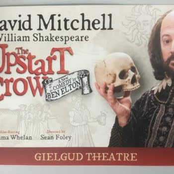 The First Review Of Upstart Crow, The Play – Having Its Cake, Eating It, Smearing It Down Its Puffling Pants