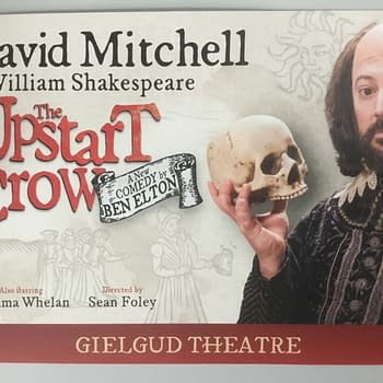 The First Review Of Upstart Crow The Play &#8211 Having Its Cake Eating It Smearing It Down Its Puffling Pants