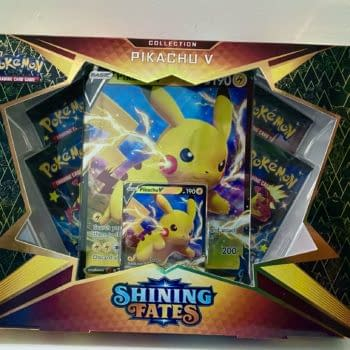 Pokémon TCG Shining Fates Product Review: Pikachu V Box