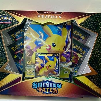 Pokémon TCG Shining Fates Product Review: Pikachu V Box