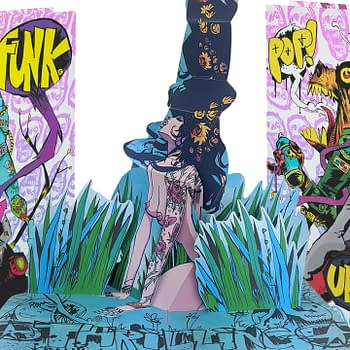 Jim Mahfoods Visual Funk Explodes in Three Dimensions in New Kickstarter Book