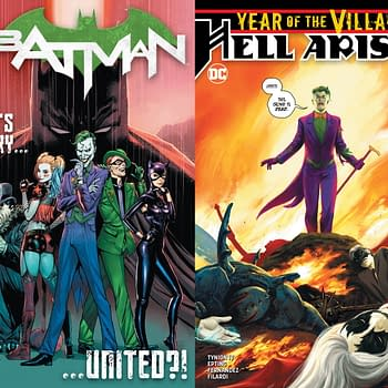 Punchline Gives Batman#89 and Hell Arisen#3 Get Second Printings Before First Printings Go On Sale