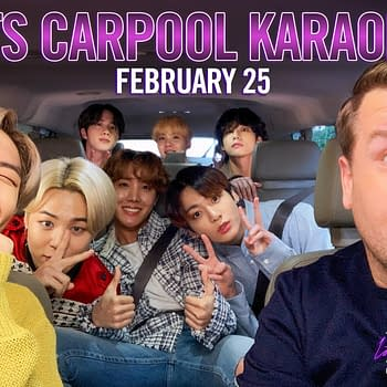 BTS The Late Late Show With James Corden Hitting the Road for Carpool Karaoke