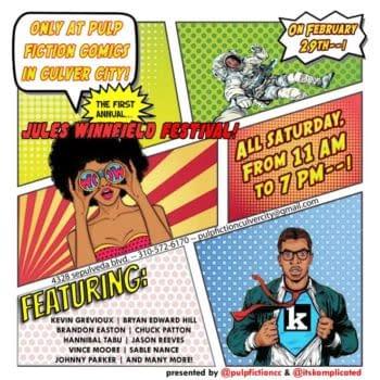 Pulp FIction Comics Hosts Jules Winnfield Festival To Celebrate Black Creators