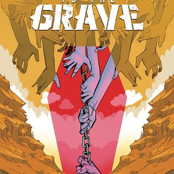 Chained to the Grave a 5-Issue Western Fantasy by Brian Level Andrew Eschenbach and Kate Sherron at IDW in May