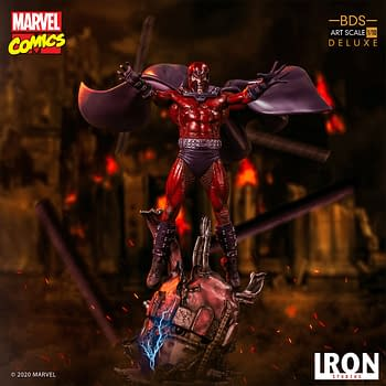 Magneto Goes All Out with New X-Men Iron Studios Statue