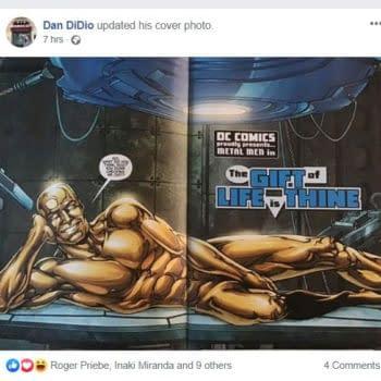 Dan DiDio and Shane Davis to Finish Metal Men With #12
