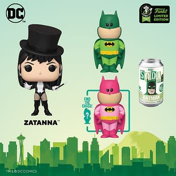 Funko Emerald City Comic Con Reveals &#8211 DC Comics