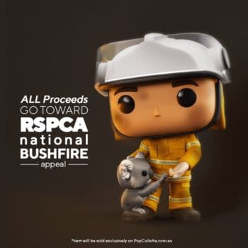 Funko and PopCultcha Team Up to Help Australia Fires with Exclusive Pop