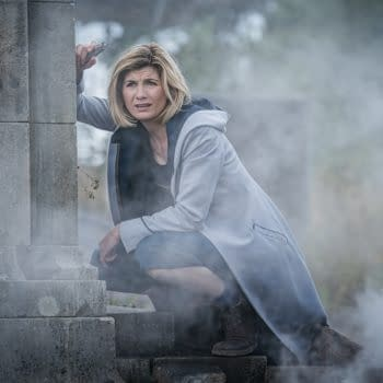 The Doctor wonders what her next plan of attack should be on Doctor Who, courtesy of BBC Studios.