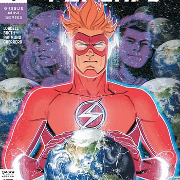 Wally Wests Reluctant Butt in Flash Forward #6 [Preview]