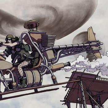 Warren Ellis and Paul Duffields Flood Future Comic Freakangels Now a Crunchyroll Anime &#8211 Speculator Corner