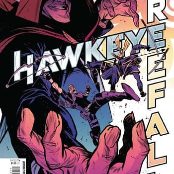 Hawkeye on Piracy: Only Jerks Illegally Download &#8211 Hawkeye: Freefall #3 [Preview]