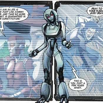 Jocasta Fights Machine Man 2020 With Continuity &#8211 and Its All Warren Ellis Fault (Spoilers)