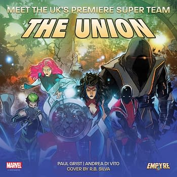There Is Power In The Union Marvels New British Super-Hero Comic by Paul Grist and Andrea Di Vito