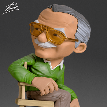 Stan Lee Is Ready for His Cameo with New Iron Studios Statue