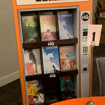Scout Comics Launches Vending Machine Display at ComicsPRO