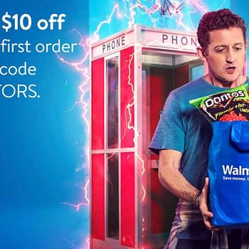Bill and Teds New Journey Includes Advertising For Walmart
