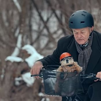 Bill Murray Gets Help Making His Groundhog Day Hell More Bearable Thanks to Phil &#038 Jeep [VIDEO]