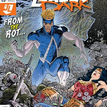 The JLD Fights Shroomed-Out Humans in Justice League Dark #20