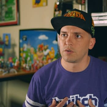 GrandPOObear Promotes Indiegogo For Mario Kaizo Documentary