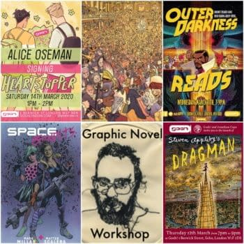 Things To Do In London… If You Like Comics – March 2020