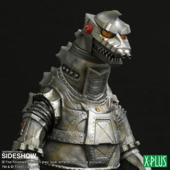 Godzilla Goes Mecha With New Figure from X-Plus