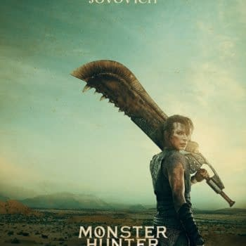 """""""Monster Hunter"""" Posters Our First Look at Paul W.S. Anderson, Milla Jovovich, Tony Jaa Movie"""