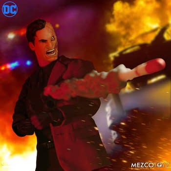Two-Face Tests His Luck With New Mezco Toys One:12 Figure