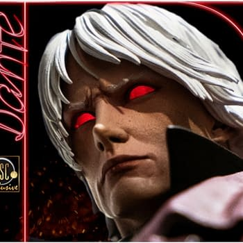 Dante Sees Red in New Devil May Cry Statue from Darkside Collectibles