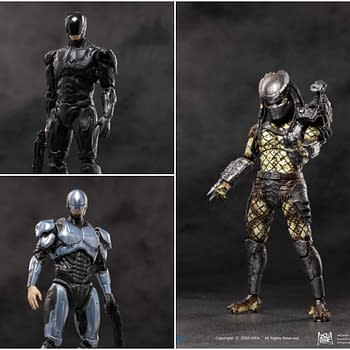 RoboCop and Predators Get More Figures from Hiya Toys
