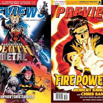 Death Metal and Fire Power on Cover of Next Weeks Diamond Previews