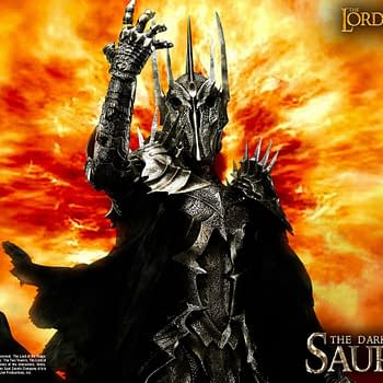 The Lord of the Rings Sauron Has Returned with Prime 1 Studio