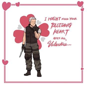 "Capcom Releases Some Printable ""Resident Evil"" Jill Valentine's Day Cards"