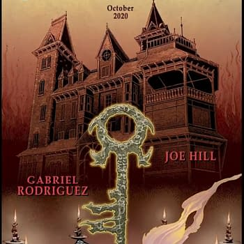 Locke &#038 Key/Sandman Crossover by Joe Hill and Gabriel Rodriguez From IDW/DC in October
