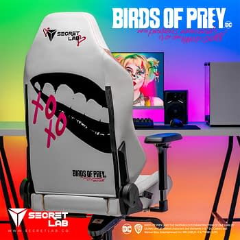 Secretlab &#038 Warner Bros. Partner For Birds Of Prey Gaming Chair