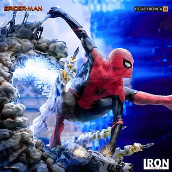 Spider-Man Breaks Free in New Iron Studios Statue