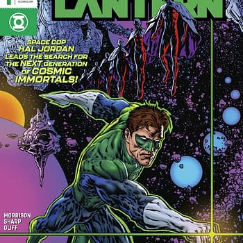 Grant Morrison and Liam Sharps The Green Lantern Season 2 Drops From 12 to 8 Issues &#8211 Is This 5G