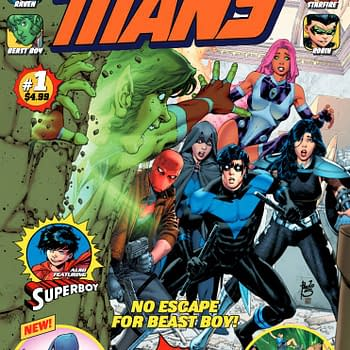 Marc Guggenheim and Steve Pugh Ask Whats Normal in Titans 100-Page Giant #1