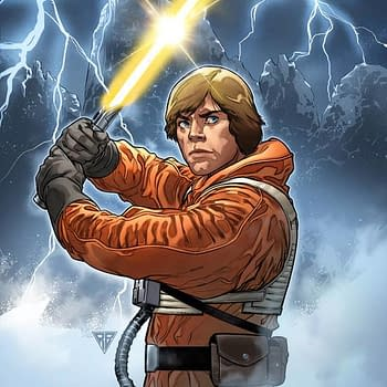 R.B. Silva Gives Luke Skywalker a Yellow Lightsaber on Mays Star Wars #6 Cover