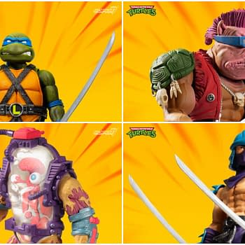 TMNT Ultimate Figures Wave 2 Up For Order Including Mutagen Man