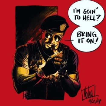 Destination Comics - The New Publisher From Richard Meyer and Chuck Dixon, With Sylvester Stallone-Written Expendables Comics - And More