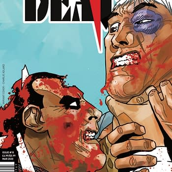Charlie Adlards Cover to Simon Furman and Geoff Seniors To The Death #10 Finale
