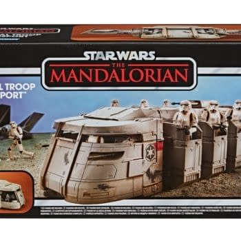 """""""The Mandalorian"""" Troop Transport Goes Vintage With Hasbro"""