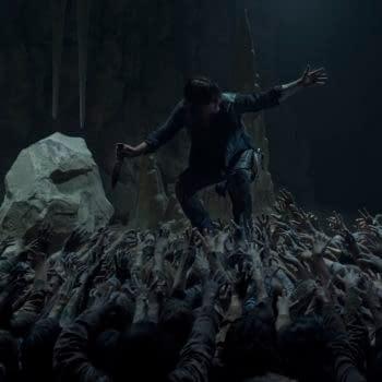 Norman Reedus as Daryl Dixon - The Walking Dead _ Season 10, Episode 9 - Photo Credit: Jace Downs/AMC
